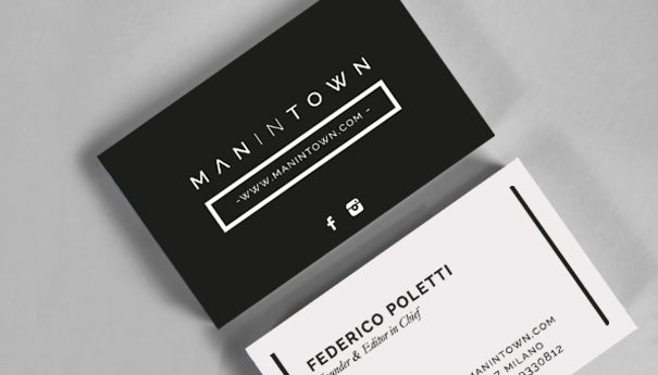 Man in Town – Brand identity