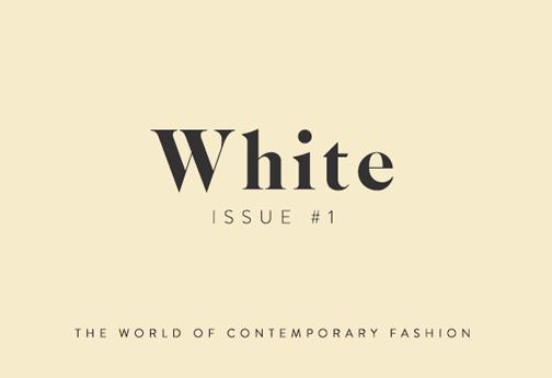 White Magazine #1