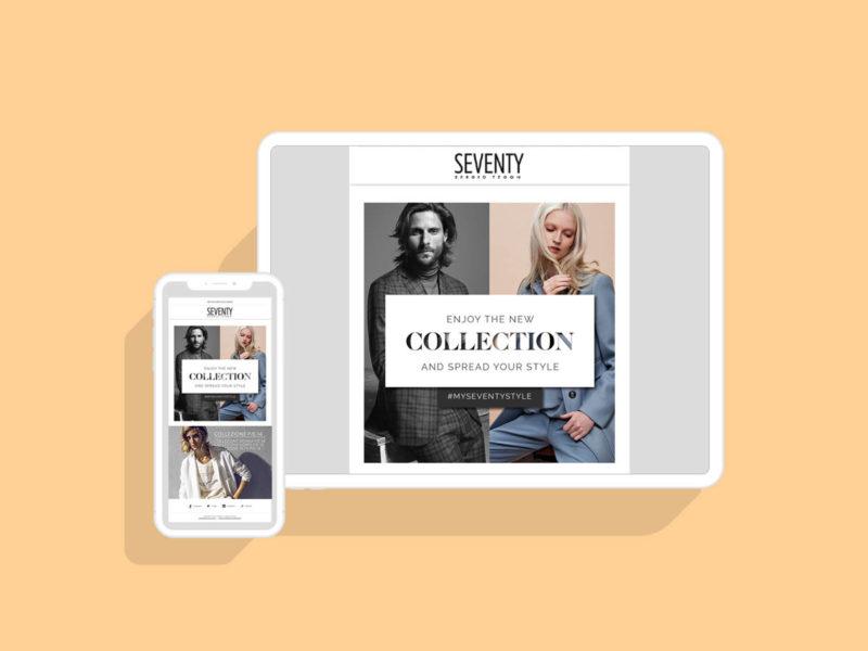 SEVENTY – Womenswear f/w Campaign