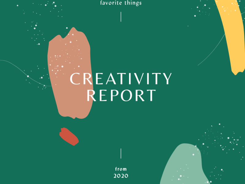 Creativity Report – Column